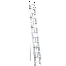 Flat D-Rung Extension Ladder
